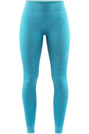 Craft Legginsy termoaktywne damskie Fuseknit Comfort Pants - Morskie