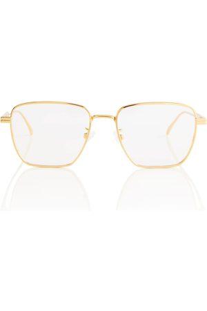 Bottega Veneta Metal glasses