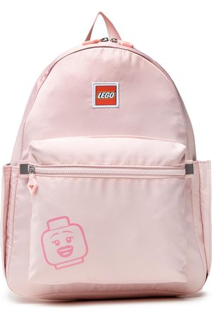 LEGO Wear Plecak - Tribini Joy Backpack Large 20130-1935 Emoji/Pastel Pink