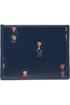 Polo Ralph Lauren Portmonetki i Portfele - Etui na karty kredytowe - Bear CC 405826010001 Navy