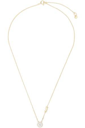 Michael Kors Naszyjniki - Naszyjnik - Pave Halo Necklace MKC1208AN710 Gold Clear