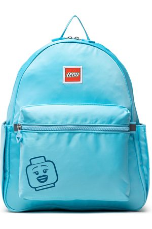 LEGO Wear Plecak - Tribini Joy Backpack Large 20130-1936 Emoji/Pastel Blue