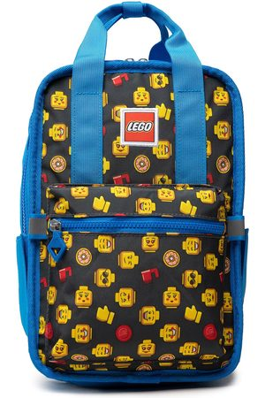 LEGO Wear Plecaki - Plecak - Tribini Fun Backpack Small 20127-1933 Heads and Cups AOP/Blue