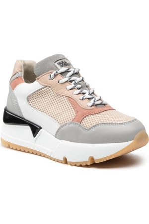 Bullboxer Kobieta Sneakersy - Sneakersy - 323020E5L Ltgy Multi