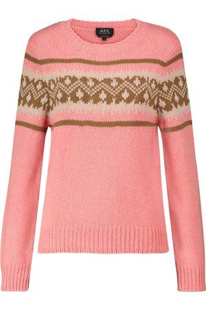 A.P.C. Elizabeth alpaca-blend knit sweater