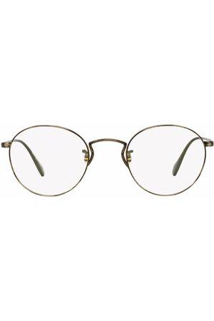 Oliver Peoples Mężczyzna Okulary przeciwsłoneczne - Metallic