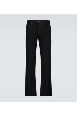 Saint Laurent Rurki i Slim Fit - Etienne cotton pants