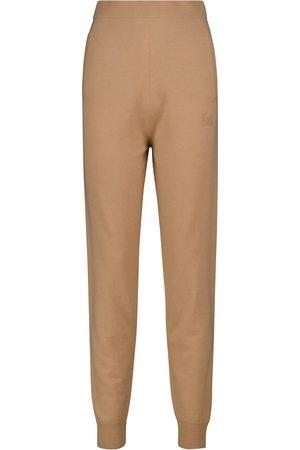 Max Mara Kobieta Spodnie dresowe - Delta wool and cashmere sweatpants