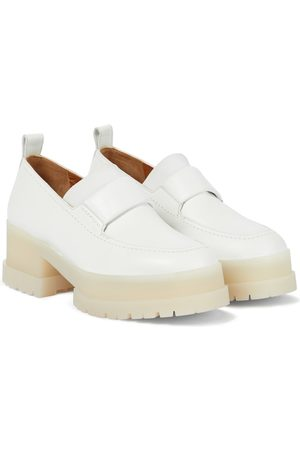 Clergerie Waelly platform leather loafers