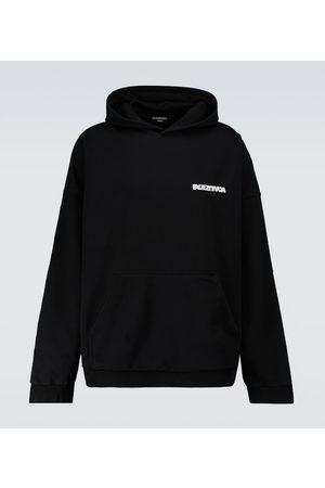 Balenciaga Wide-fit hooded sweatshirt