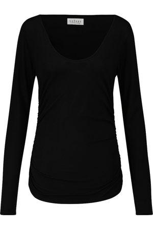 Velvet Kobieta Bluzki - Denise stretch-cotton top