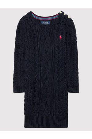 Polo Ralph Lauren Sukienka codzienna Aran 311850504002 Granatowy Regular Fit
