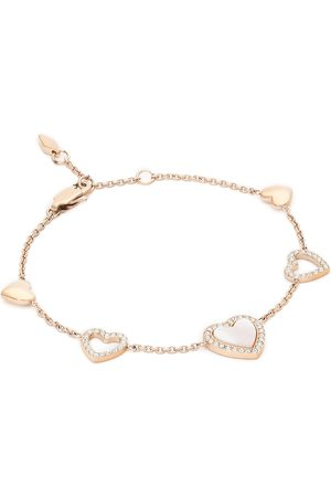 Fossil Bransoletka - Hearts To You JF03458791 Gold