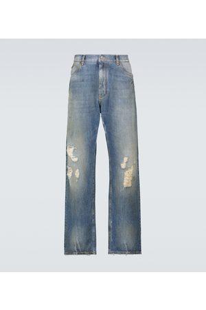 Dolce & Gabbana Loose-fit denim pants