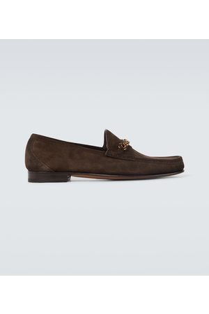 Tom Ford Exclusive to Mytheresa – suede York Chain loafers
