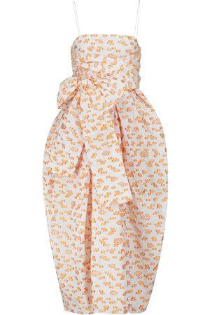 Cecilie Bahnsen Kobieta Sukienki z nadrukiem - Jilly floral fil coupé midi dress