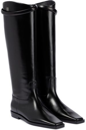 Totême Leather knee-high boots