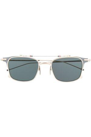 Thom Browne Eyewear Silver