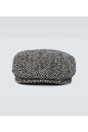 Dolce & Gabbana Kapelusze - Herringbone wool-blend hat