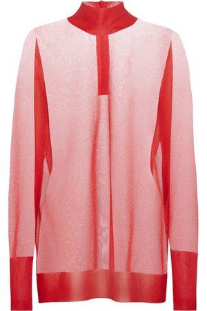 Dolce & Gabbana Sheer knit top
