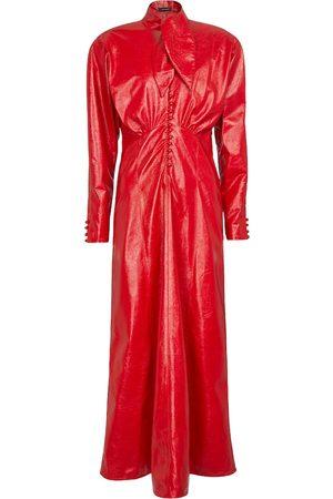 Isabel Marant Kobieta Sukienki maxi - Genazuli faux leather maxi dress
