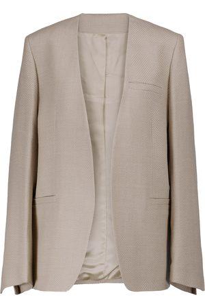Totême Wool-blend twill blazer