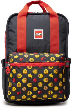 LEGO Wear Plecak - Tribini Fun Backpack Large 20128-1932 Heads And Cups Aop/Red
