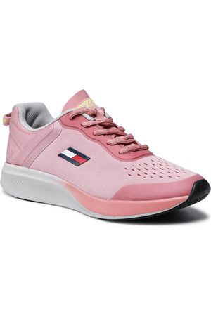 Tommy Hilfiger Kobieta Z krótkim rękawem - Sneakersy - Ts Pro Racer Women 1 FC0FC00027 Soothing Pink TQS
