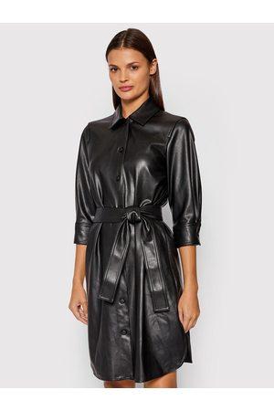 MARELLA Sukienka z imitacji skóry Bronte 36260118 Regular Fit