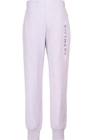 Givenchy Logo cotton jersey sweatpants