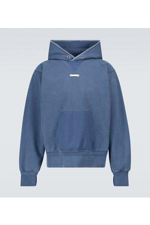 Maison Margiela Garment-dyed hooded sweatshirt