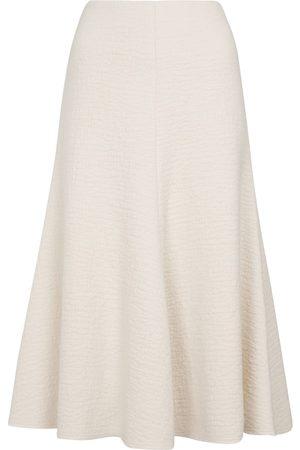 Chloé Felted wool midi skirt