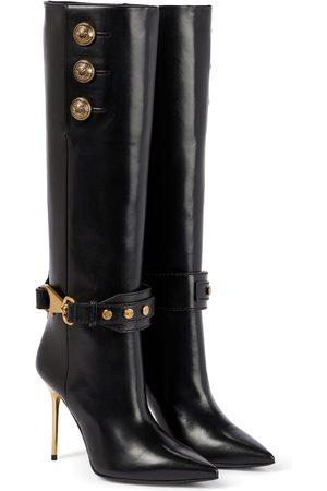 Balmain Robin leather boots