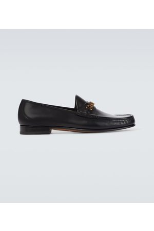 Tom Ford Brogsy i Mokasyny - Exclusive to Mytheresa – leather York Chain loafers