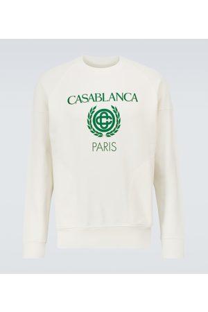 Casablanca Printed cotton sweatshirt