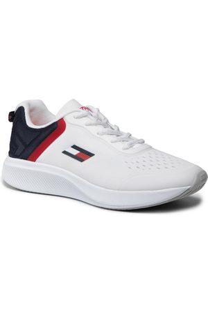 Tommy Hilfiger Kobieta Z krótkim rękawem - Sneakersy - Ts Pro racer Women 1 FC0FC00027 White YBR