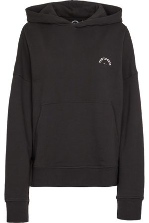 THE UPSIDE Logo cotton hoodie