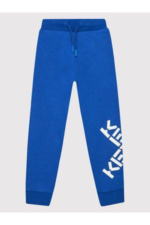 Kenzo Spodnie dresowe K24070 Regular Fit