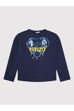 Kenzo Bluzy sportowe - Bluza K25168 Granatowy