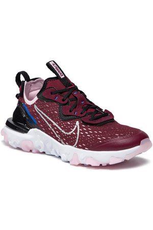 Nike Buty React Vision (Gs) CD6888 600 Bordowy
