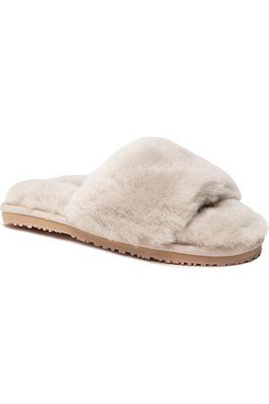 Mou Kapcie Sheepskin Fur Slide Slipper FW161001L