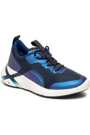 Geox Sneakersy J Playkix B. A J04DDA 011BC C4226 S Granatowy
