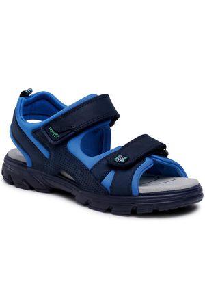 Superfit Sandały 1-000181-8000 D Granatowy