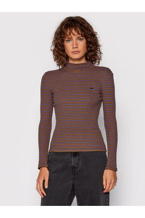 Lee Bluzka Ribbed Ls Striped L40HRC01 Slim Fit
