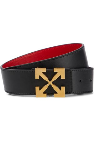Off-White Arrows 25 reversible leather belt