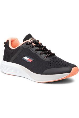 TOMMY HILFIGER Kobieta Z krótkim rękawem - Sneakersy - Ts Pro racer Women 1 FC0FC00027 Black BDS