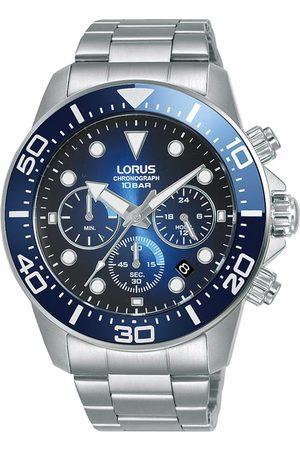 Lorus Mężczyzna Zegarki - Zegarek - RT343JX9 Silver/Navy