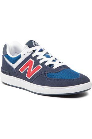 New Balance Sneakersy AM574ANR Granatowy