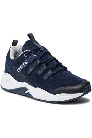 Big Star Kobieta Sneakersy - Sneakersy II274256 Granatowy
