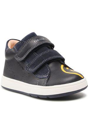 Geox Chłopiec Sneakersy - Sneakersy B Biglia B. D B044DD 08522 C4P2G Granatowy